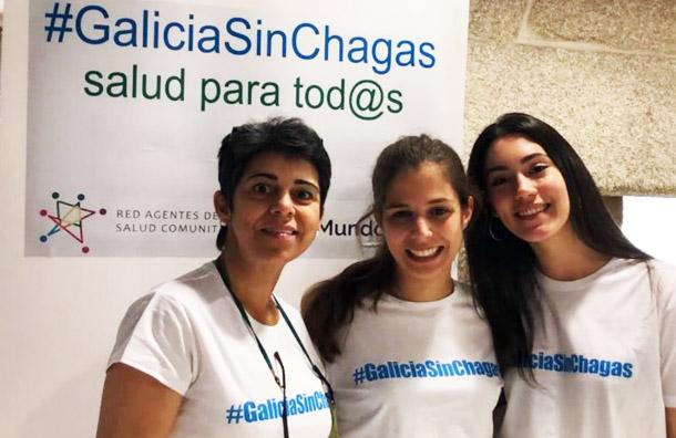 Voluntarias de la Universidad de Vigo